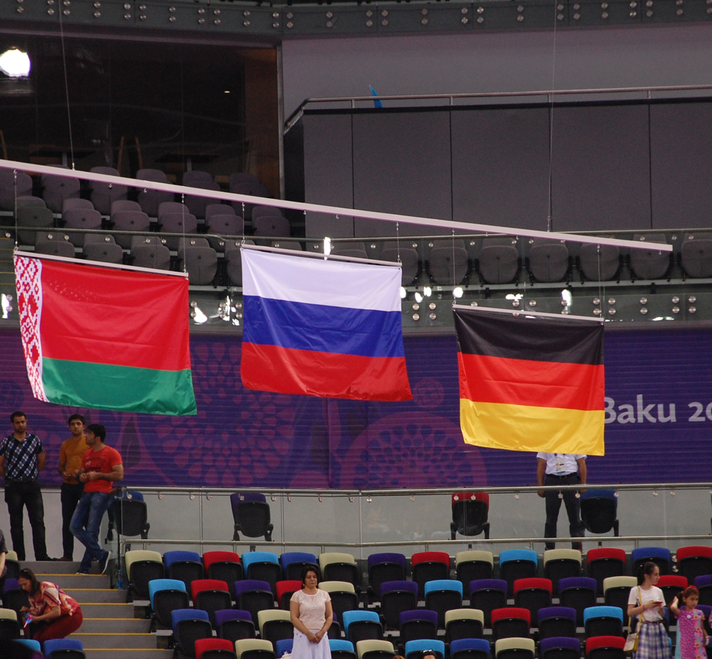 Baku 2015: Mixed pair event in aerobic gymnastics wrap up (PHOTO) - Gallery Image
