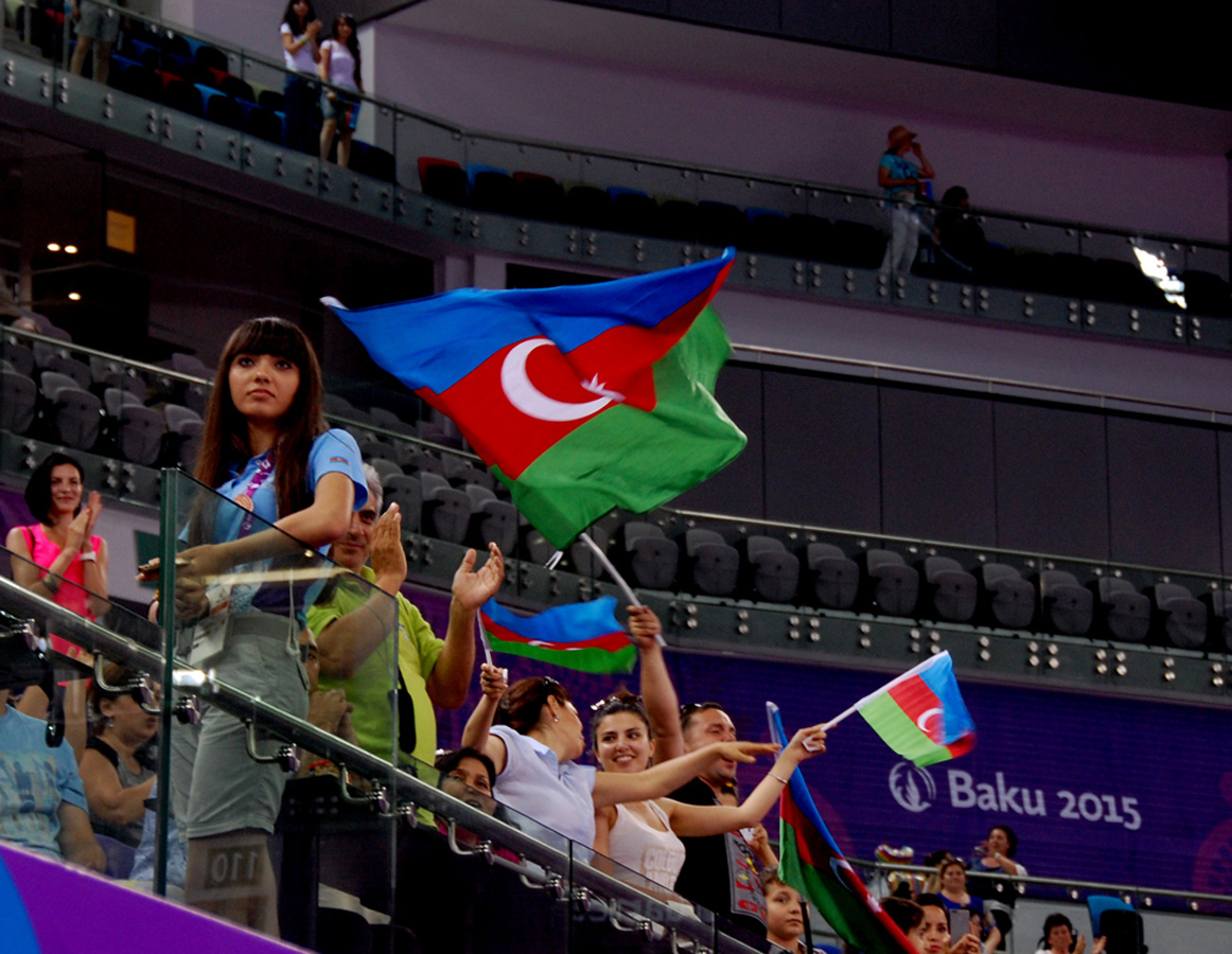 Baku 2015: Success of Azerbaijani athletes on last day of gymnastics competitions (PHOTO SESSION) - Gallery Image