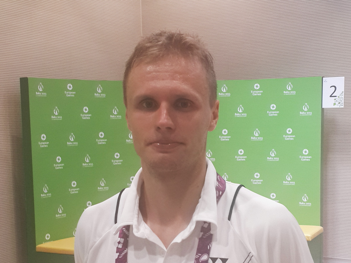 European Games - great event in world of sports, says Estonian badminton player