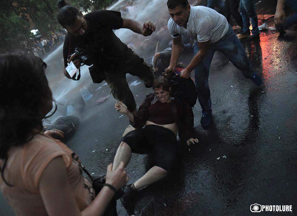 Large-scale protest resumes in Yerevan (PHOTO) - Gallery Image