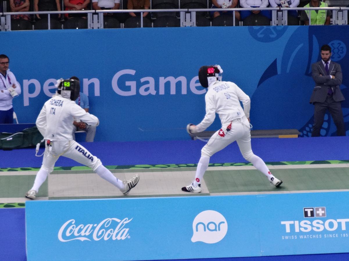 Baku 2015: Third day of fencing event kicks off at Baku 2015 (Live)