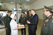 Azerbaijani president attends opening of naval base - Gallery Thumbnail