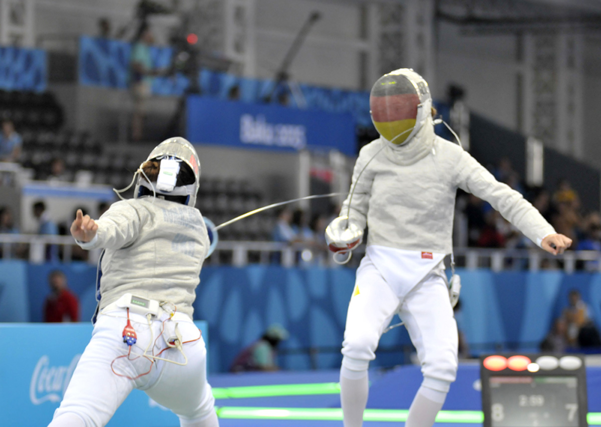 Baku 2015: Azerbaijani female fencer reaches finals