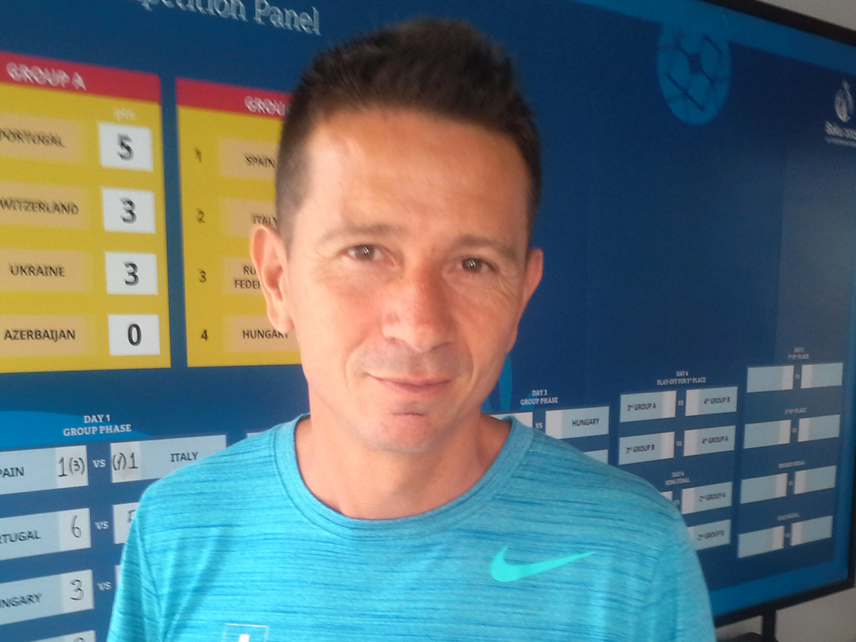 European Games in Azerbaijan fantastic, whole country is involved, Swiss coach says