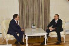 Azerbaijani president receives Secretary General of Socialist International - Gallery Thumbnail