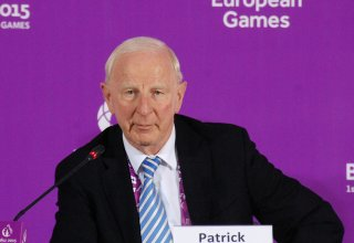 Patrick Hickey declares First European Games closed (VIDEO)