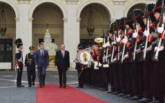 Azərbaycan Prezidenti İtaliyanın Baş naziri ilə görüşüb (FOTO) - Gallery Thumbnail
