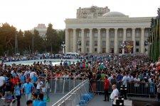 Bakıda birinci Avropa Oyunlarına həsr edilən parad və konsert keçirildi (ƏLAVƏ OLUNUB) (FOTO) - Gallery Thumbnail