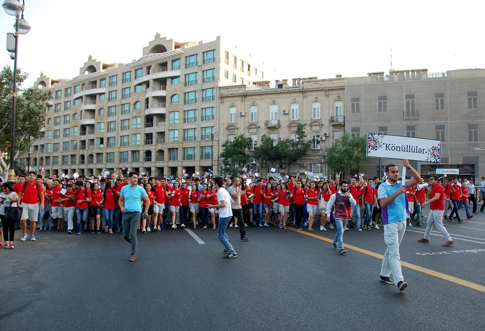 Bakıda birinci Avropa Oyunlarına həsr edilən parad və konsert keçirildi (ƏLAVƏ OLUNUB) (FOTO) - Gallery Image