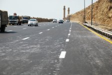 Восстановлено движение транспорта на южном въезде в Баку - Gallery Thumbnail