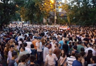 Protest actions resume in Armenia