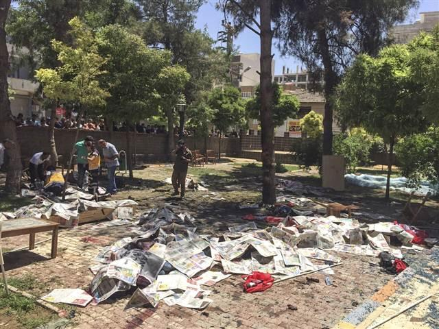 Deadliest explosion occurs in Turkish province, leaves tens of dead (UPDATE 3) (PHOTO)