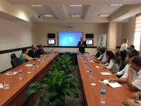 SOCAR-AQS поздравила журналистов со 140-летней годовщиной основания прессы Азербайджана - Gallery Thumbnail