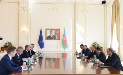 Ilham Aliyev, Donald Tusk hold expanded meeting - Gallery Thumbnail