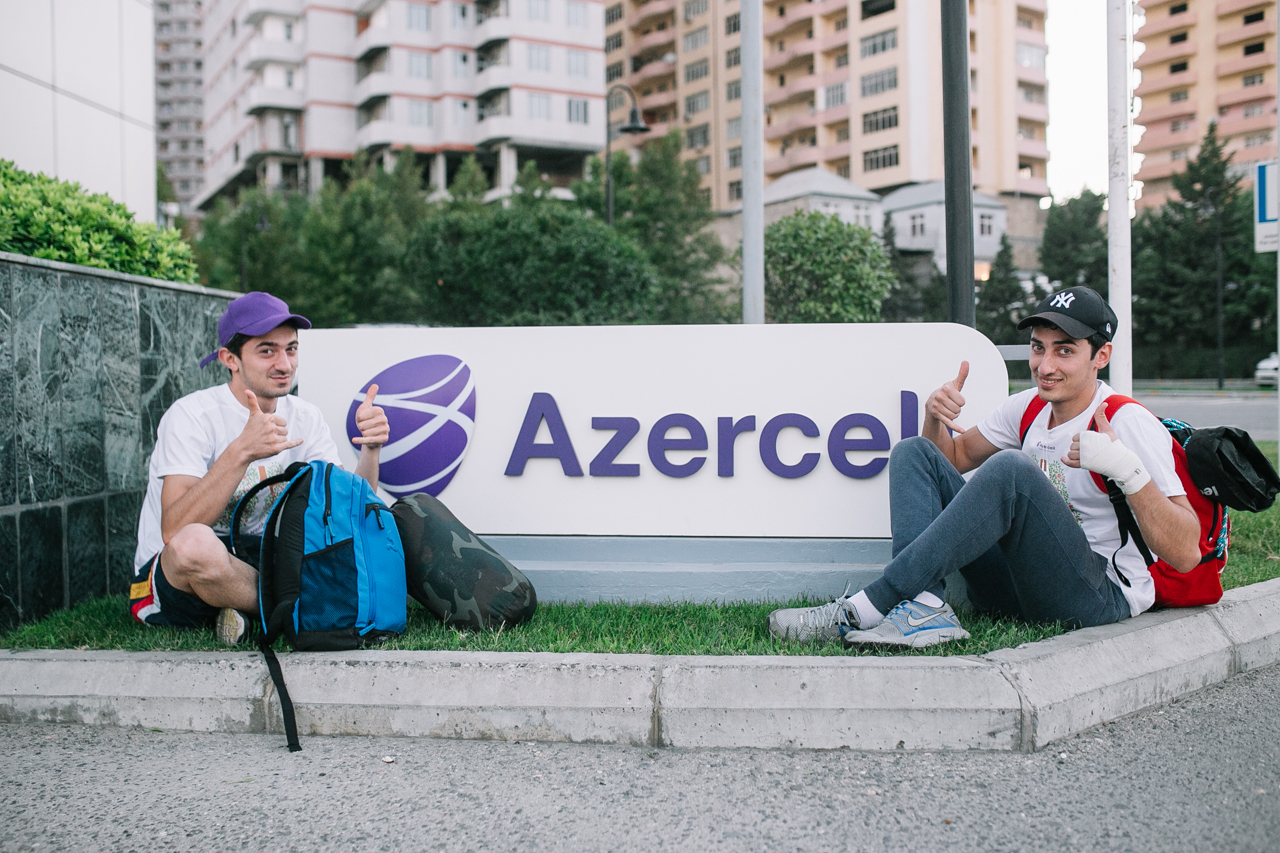 """Azercell continues social project with slogan """"Life without cigarettes"""" - Gallery Image"""