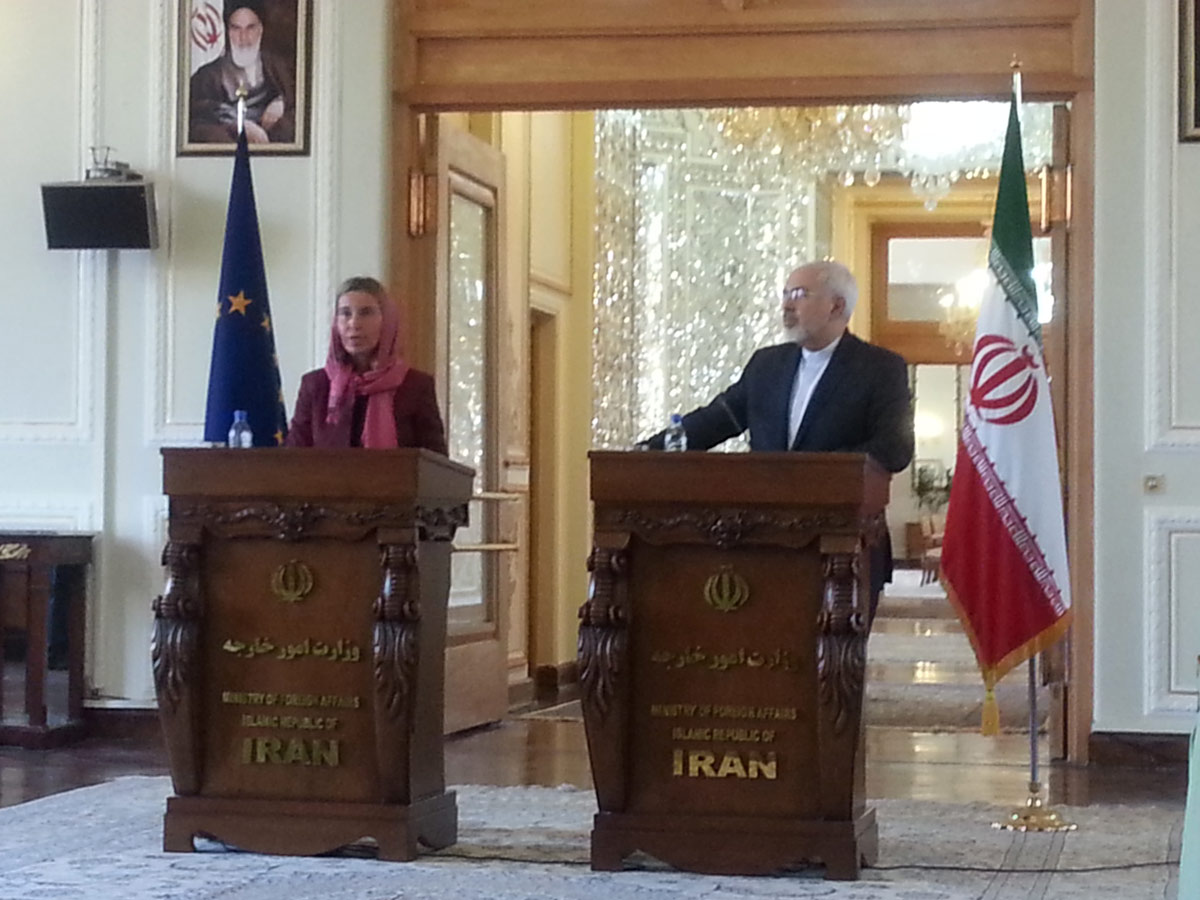 Iran says new page opens in Iran-EU relations