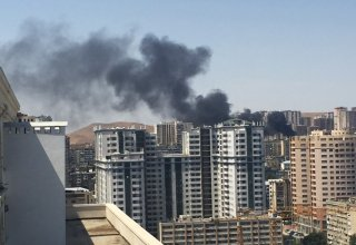 Fire in Baku's Yasamal district extinguished (UPDATE 2)