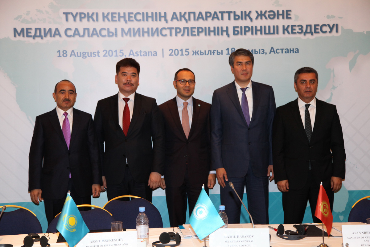 Ali Hasanov: Creation of Int'l Turkic News Channel can contribute to building Turkic world's centralized information policy - Gallery Image