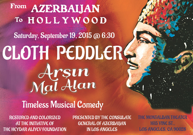 Legendary Azerbaijani Musical Comedy Film to premier in Hollywood (VIDEO)