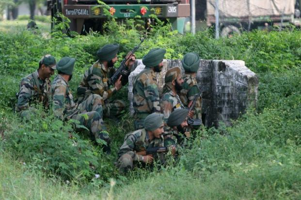 Indian army kills 6 militants in northeast state