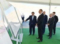 Azerbaijani president attends ceremony of water supply from Takhtakorpu-Jeyranbatan canal (PHOTO) - Gallery Thumbnail