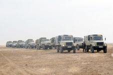 Azerbaycan Savunma Bakanı askeri bölmelerin hazırlıklarını kontrol etti (Foto Haber) - Gallery Thumbnail