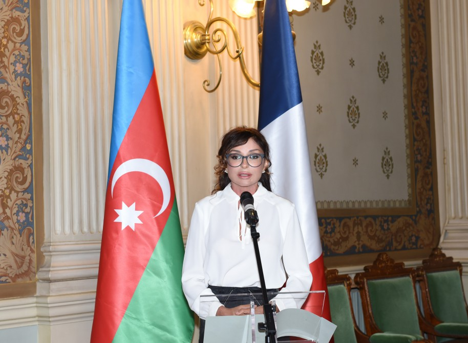 Mehriban Aliyeva takes part in 'Religious Tolerance: The Culture of Coexistence in Azerbaijan' conference in Paris