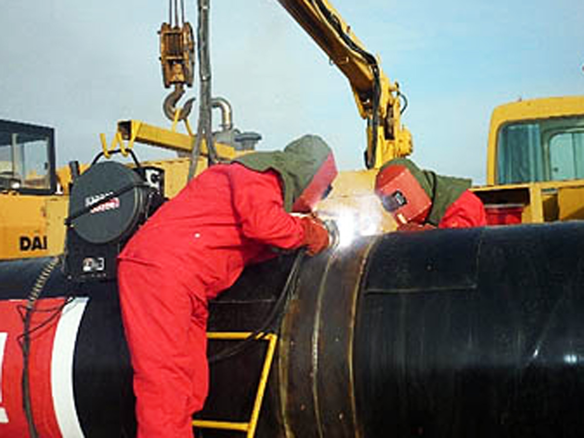 Italian company to inspect welding work on South Caucasus gas pipeline