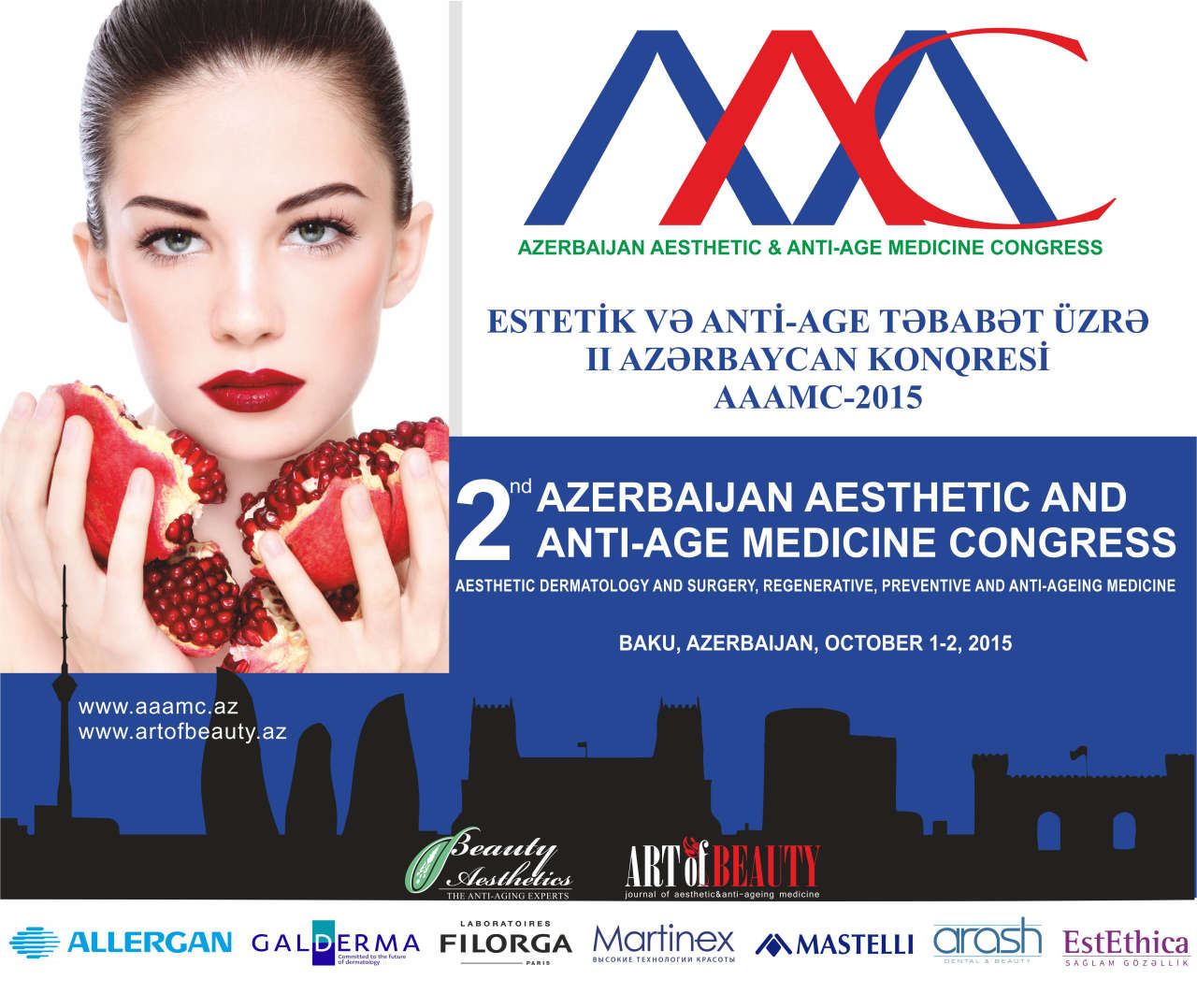 Baku to host 2nd Azerbaijan Aesthetic and Anti-Age Medicine Congress