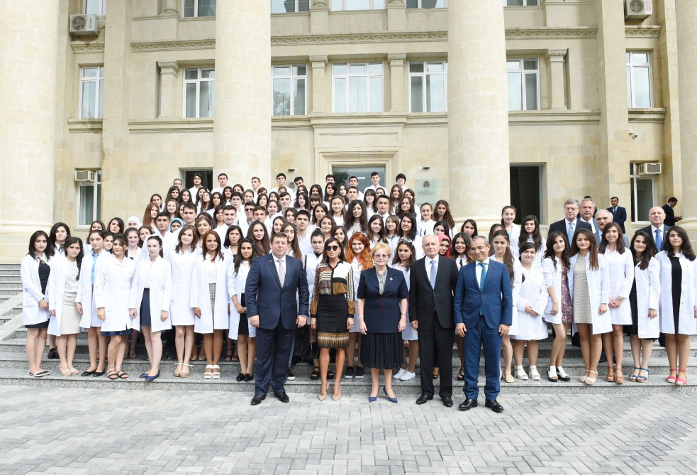 Azerbaijani first lady attends opening of Baku branch of I.M. Sechenov Moscow State Medical University (PHOTO) - Gallery Image