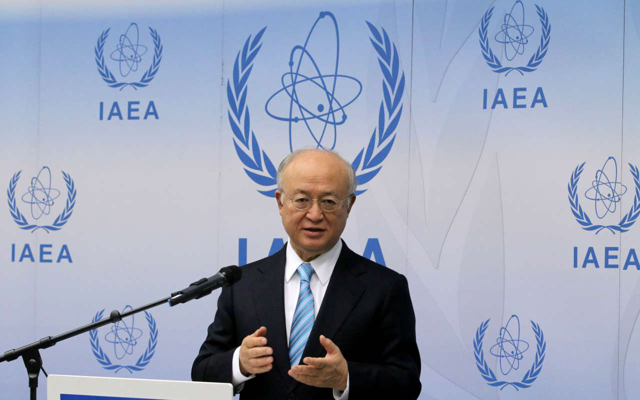 'Not impossible' Iran sanctions will end in Jan - IAEA