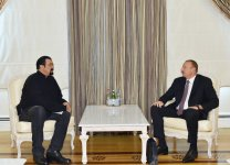 Azerbaijani president receives famous actor Steven Seagal - Gallery Thumbnail