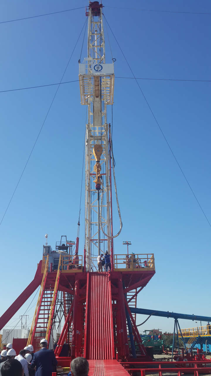 Gulf Drilling Azerbaijan introduces new drilling rig - Gallery Image