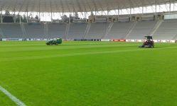 Respublika stadionunun ot örtüyü nəhayət ki düzəldi (FOTO) - Gallery Thumbnail