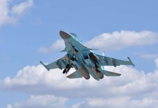 Two Su-34 jets collide in Russia's Far East