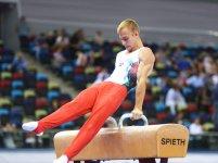Стартовали Чемпионат и Первенство Баку по мужской и женской спортивной гимнастике (ФОТО) - Gallery Thumbnail