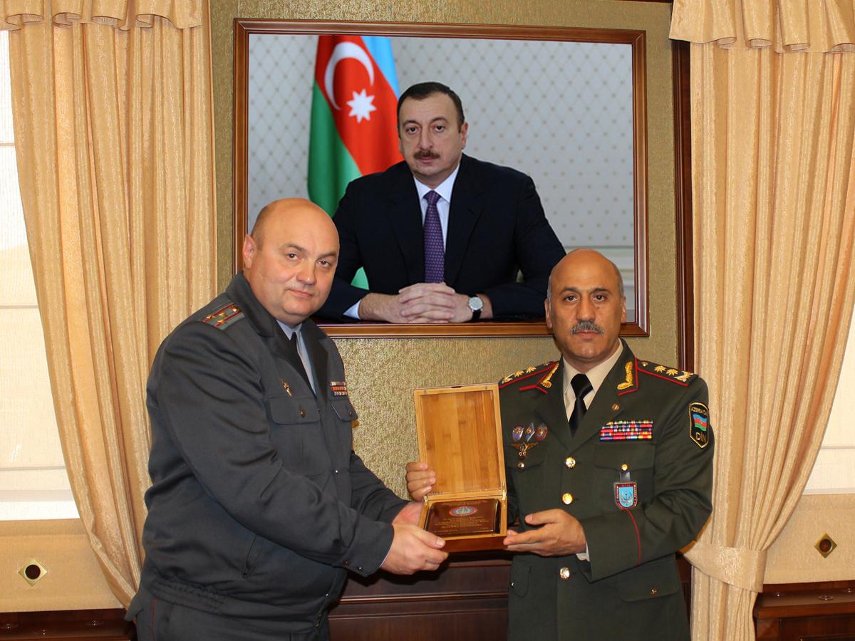 Belarus və Azərbaycan arasında hərbi əməkdaşlıq müzakirə olunub (FOTO)