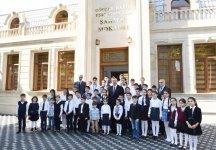 Президент Ильхам Алиев принял участие в открытии Шахматной школы в Гейчае - Gallery Thumbnail