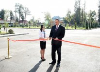 President Aliyev attends opening of new building of Ujar district Central Hospital - Gallery Thumbnail