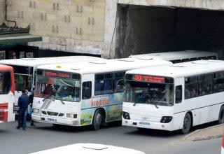 Противозаконные действия водителей  автобусов в Баку (ФОТО)