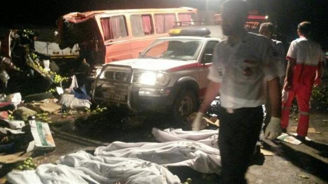20 people die in Iran road accident (PHOTO) - Gallery Image