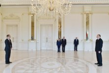 Azerbaijani president accepts credentials of newly-appointed Swiss ambassador - Gallery Thumbnail