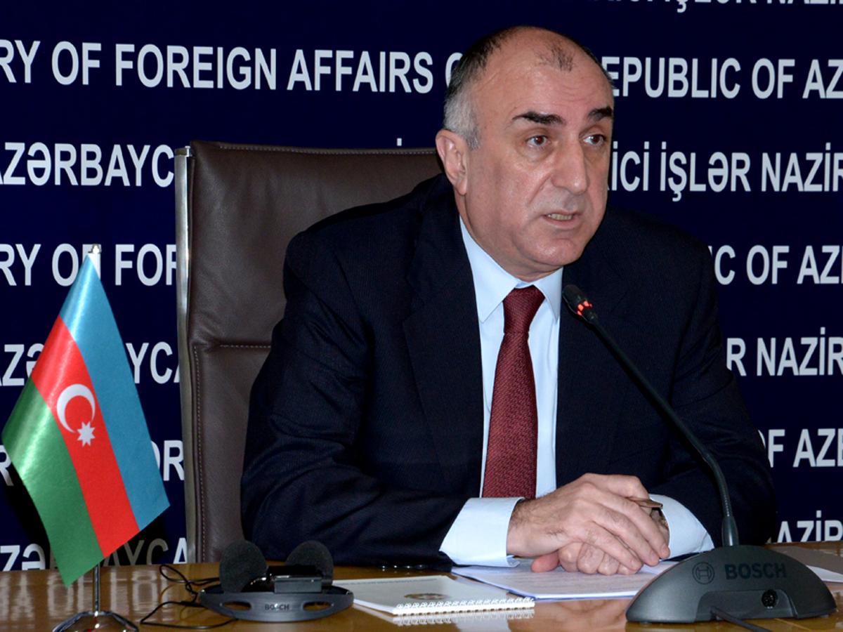 """Azerbaycan Dışişleri Bakanı: """"Karabağ sorununun çözümü, Ermenistan silahlı güçlerinin bölgeden çekilmesi ile başlatılmalıdır"""""""