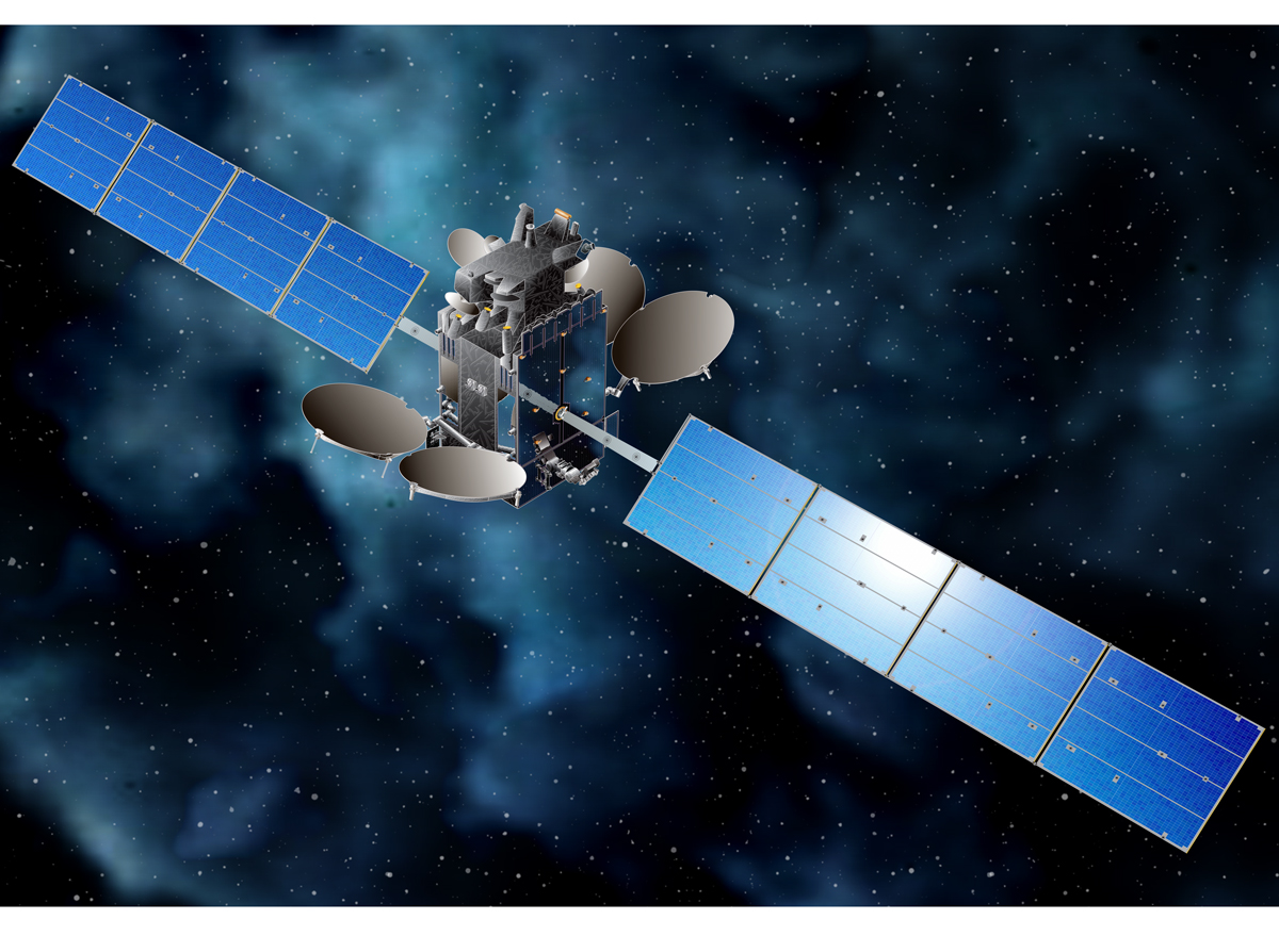 Azerbaijani satellite broadcasts several foreign TV channels