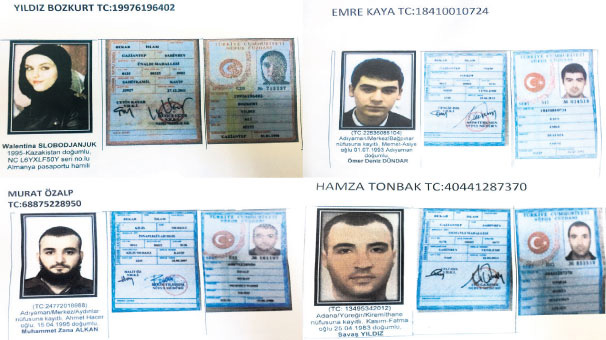 Potential terrorists wanted in Turkey - Gallery Image