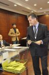 Azerbaycan'da Türk seçmenler sandık başında (Foto Haber) - Gallery Thumbnail