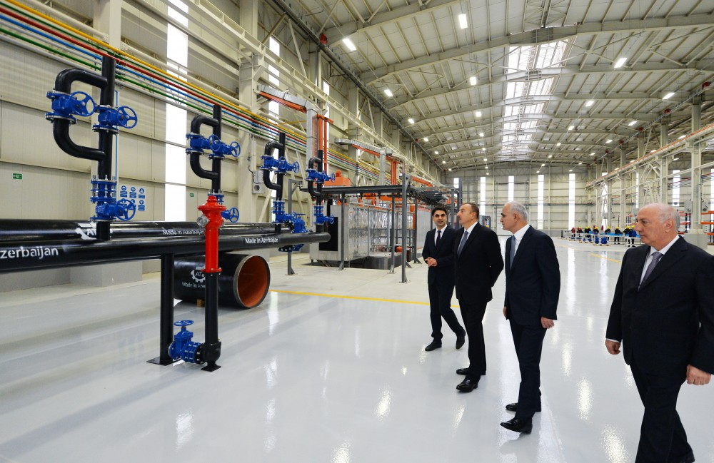 President Aliyev attends opening of Technical Equipment Plant in Sumgayit - Gallery Image