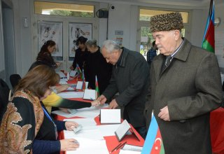 Over 55% of voters cast ballots at Azerbaijani parliamentary election