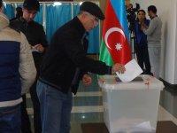 Azerbaycan'da parlamento seçimlerinden ilk görüntüler (Foto Haber) - Gallery Thumbnail