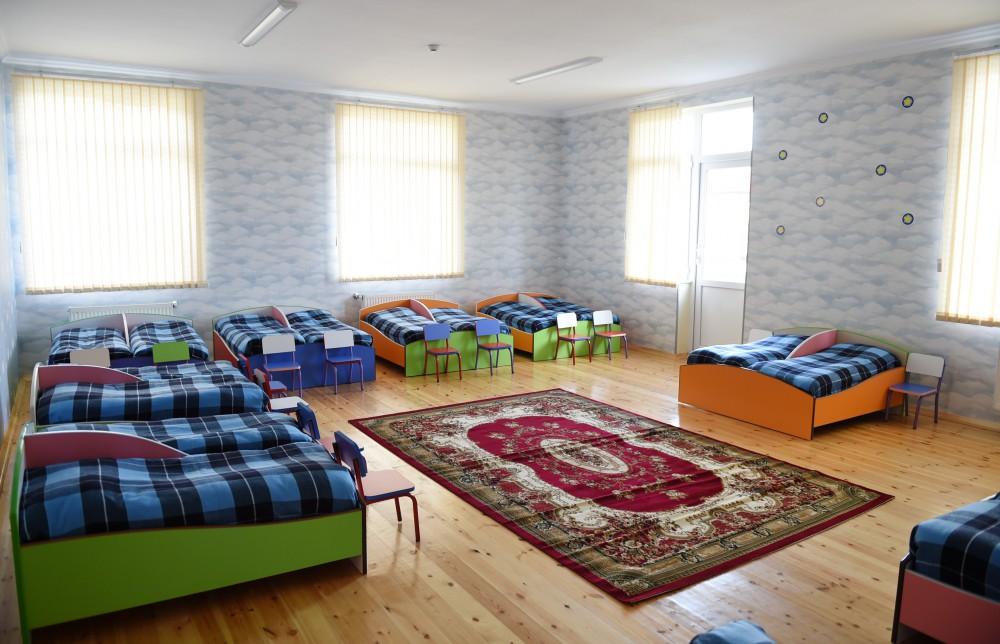 Ilham Aliyev attends opening of kindergarten in Zagatala - Gallery Image